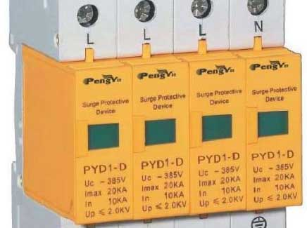 Surge protector classification