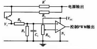 Current limiting circuit design diagram of base drive circuit