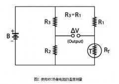 Ntc thermistor temperature protection applied to simple DC bridge circuit design