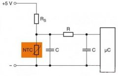 Design of Protection Circuit Diagram for Temperature Measurement Microcontroller of SMD NTC Thermisto