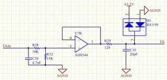 Multi-channel PT100-III type signal conversion module
